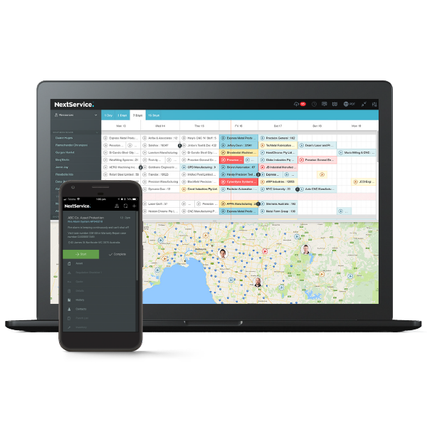 Multi-device Field Service Software